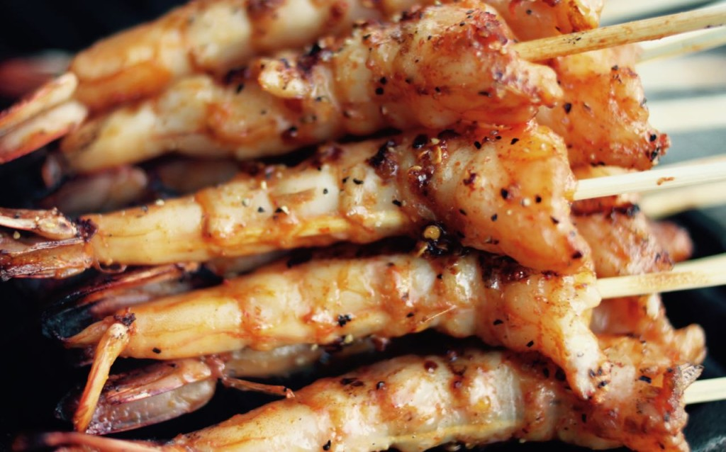 BBQ_Grilled_Shrimp_Satay