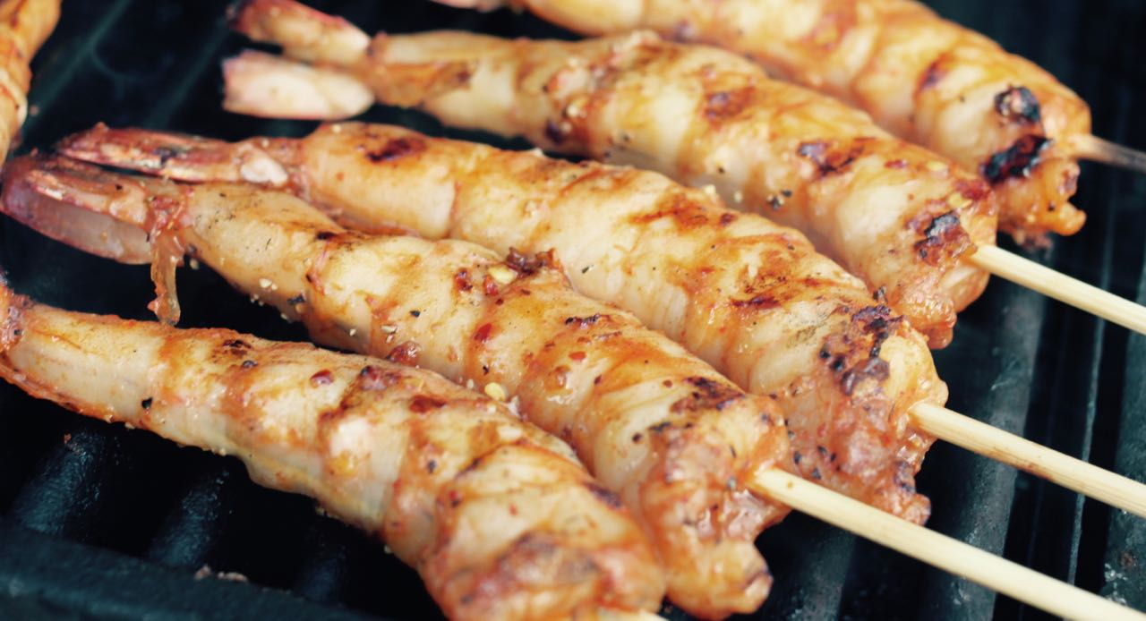 Grilled Spicy Shrimp Satay Recipe - Annie's Vietnamese Food Blog ...