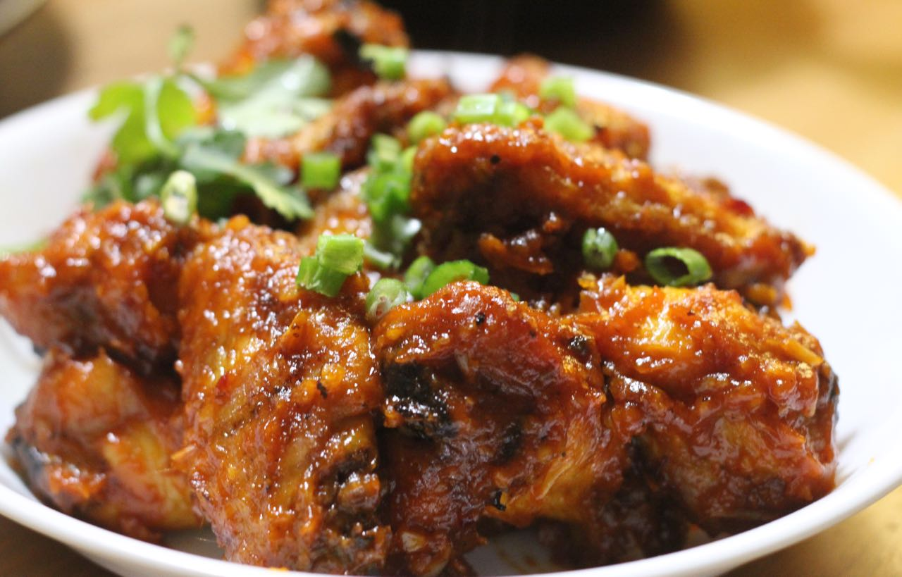 Easy Korean Chicken Wings Recipe - Annie's Vietnamese Food Blog ...